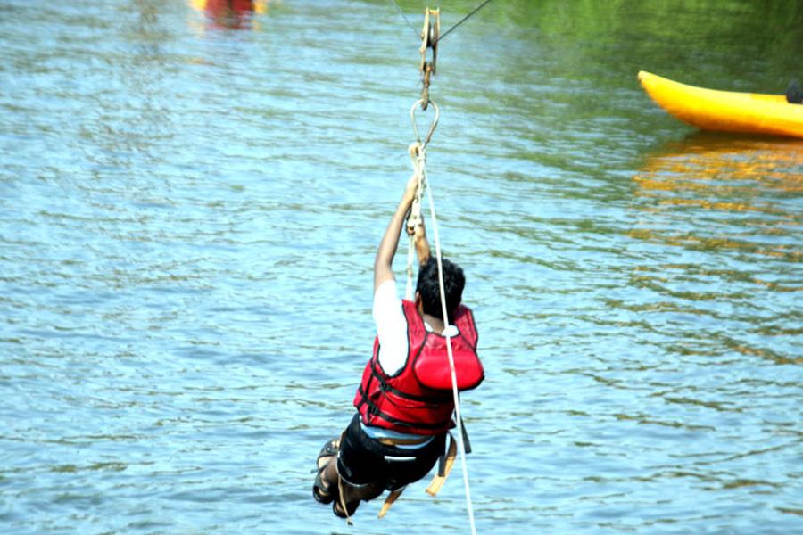 Kolad Water Sports Package - Zip Line
